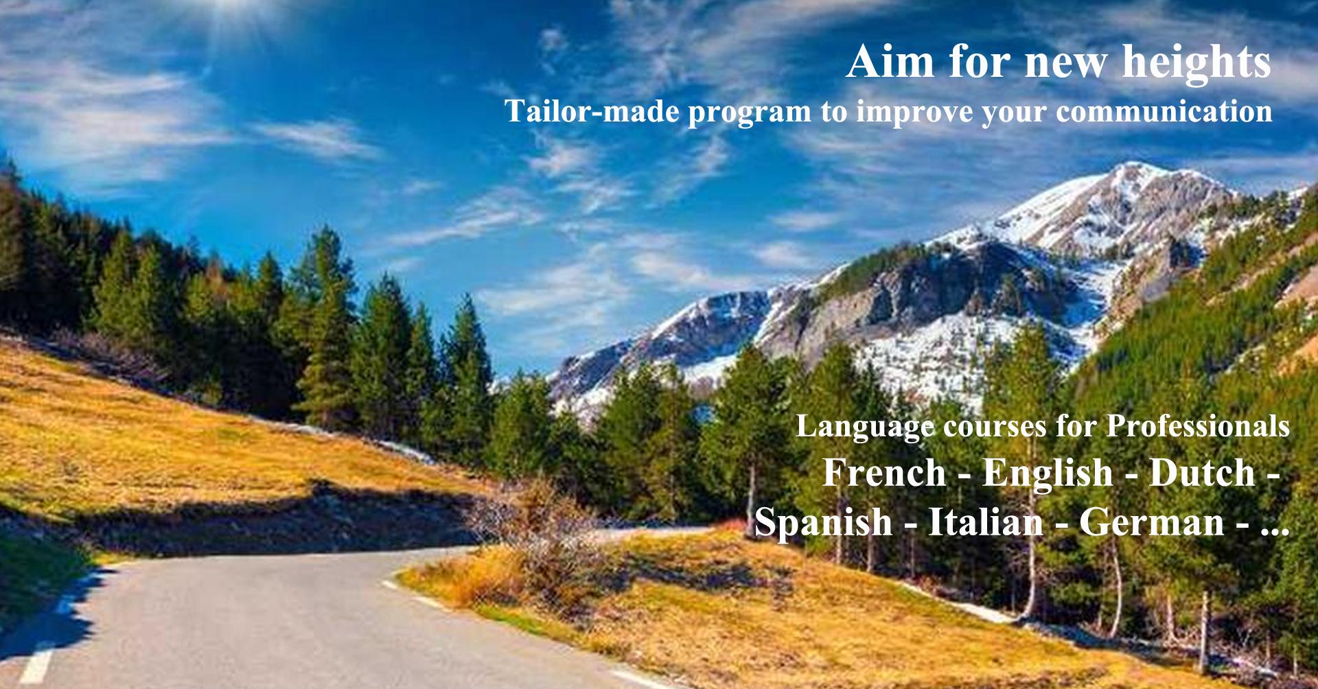 tailor-made language program